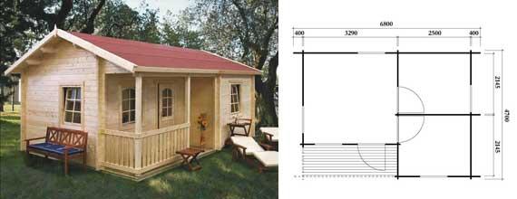 casa de madera giuseppe