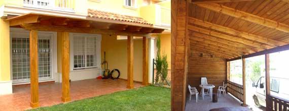 Porches de madera maderas sfica - Disenos de porches de casas ...
