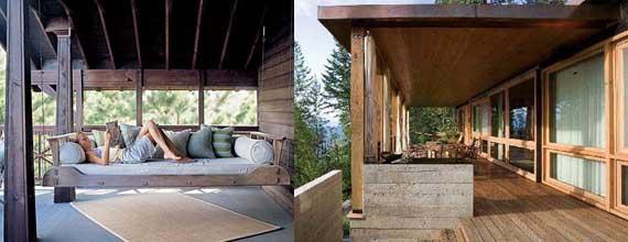 Como dise ar un porche de madera casa dise o - Disenos de porches de casas ...